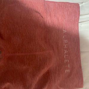 Pink alphalete leggings